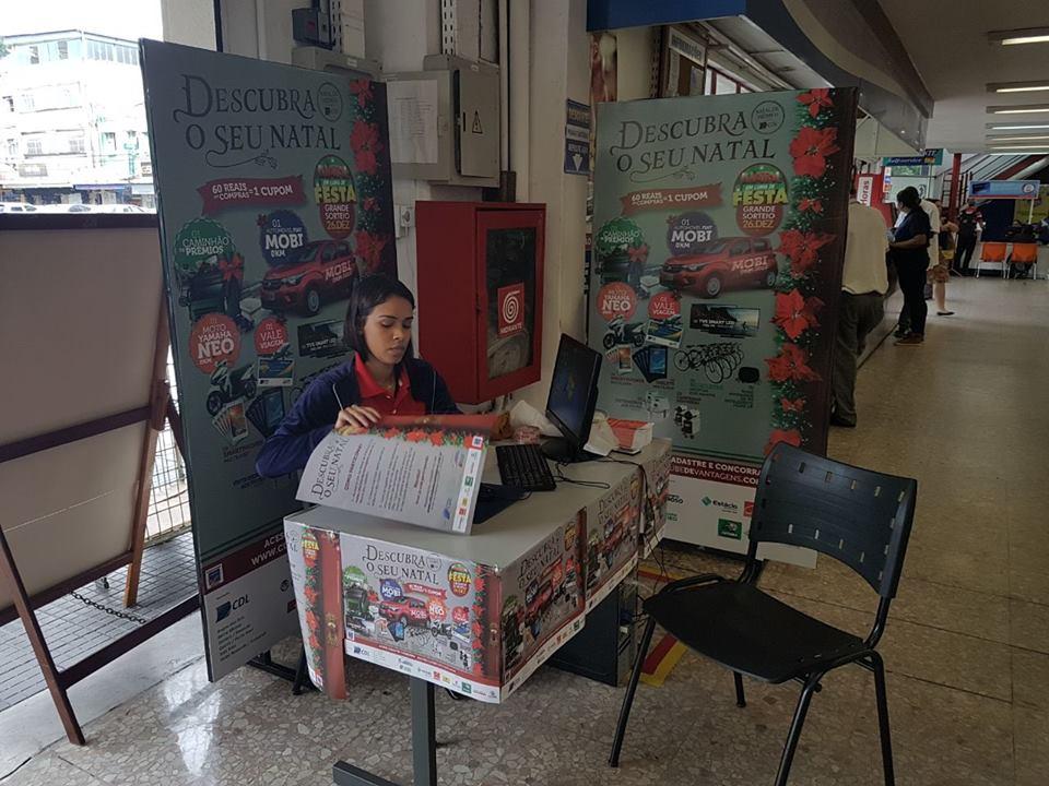 CDL Três Rios comemora adesão dos consumidores à campanha de Natal