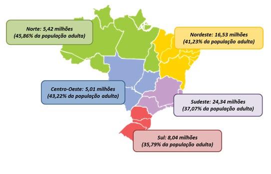 59,3 milhões de brasileiros estão com o nome negativado, mostra estimativa do SPC Brasil e CNDL